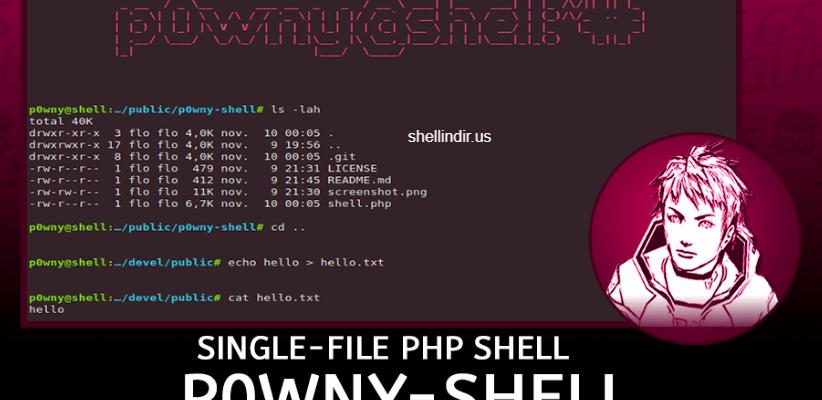 p0wny shell indir